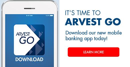 Arvest Go App